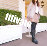 「大人可愛い♪titivateでボアジャケットで暖かコーデ☆」の画像(1枚目)