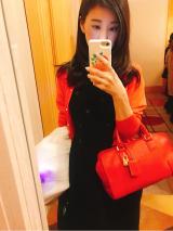 差し色になるカラーもののバッグもレンタルなら取り入れやすい♡の画像(2枚目)