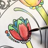 手軽に美しい水彩を始めたくなります★ファーバーカステル水彩色鉛筆★の画像(9枚目)