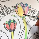 手軽に美しい水彩を始めたくなります★ファーバーカステル水彩色鉛筆★の画像(6枚目)
