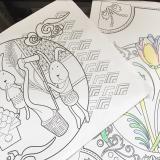 手軽に美しい水彩を始めたくなります★ファーバーカステル水彩色鉛筆★の画像(15枚目)