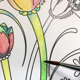 手軽に美しい水彩を始めたくなります★ファーバーカステル水彩色鉛筆★の画像(7枚目)