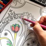 手軽に美しい水彩を始めたくなります★ファーバーカステル水彩色鉛筆★の画像(4枚目)