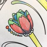 手軽に美しい水彩を始めたくなります★ファーバーカステル水彩色鉛筆★の画像(8枚目)
