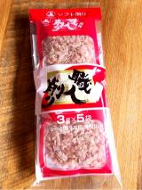 ふわふわかつお節とちゃんぽん麺で油らーめんの画像(3枚目)