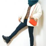 「【code&make】雪国だけどスニーカー♡ラスト仕事メイクはラメをふんだんに使ったアイシャドウ」の画像(1枚目)