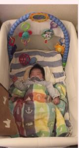 リビングでの赤ちゃんの居場所.·˖*✩⡱の画像(5枚目)