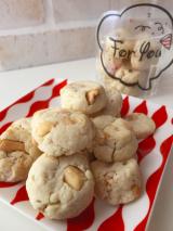洗い物 ゼロ ! 簡単おやつ  ナッツクッキー の画像(1枚目)