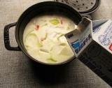 「タカナシ乳業の『低温殺菌牛乳』と『北海道純生クリーム42』でクリームシチューを作ったら美味しい♪」の画像(5枚目)