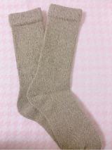 「【くせになるあったかウール靴下】スノーリアソックス」の画像(2枚目)