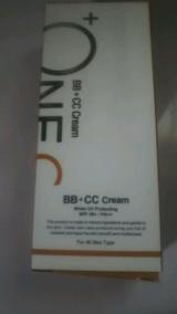 +OneC(プラワンシー) BB+CCクリーム(ファンデーション)の画像(1枚目)