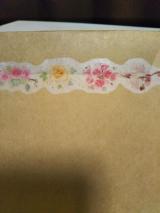 口と足で描いた絵 マスキングテープの画像(3枚目)