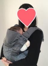「ママコーデ♡抱っこも安心!アクセいらずな胸元レースニット」の画像(9枚目)