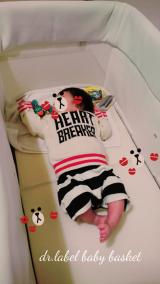 持ち運べるベビーベッド♡の画像(7枚目)