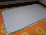 ベッドを包む防水シーツの画像(4枚目)