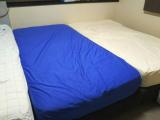 ベッドを包む防水シーツの画像(5枚目)