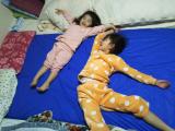 ベッドを包む防水シーツの画像(7枚目)