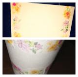 ☆6 口で描いた可憐な花の絵 マスキングテープの画像(2枚目)