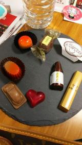 阪神百貨店バレンタイン③会場人気はスペインのショコラ 私はCAVAの画像(4枚目)