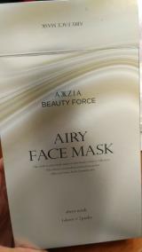 「エアリーフェイスマスクを試したよ❤」の画像(2枚目)