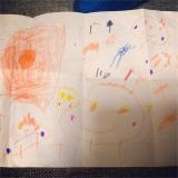 娘 4歳5ヶ月 最近の絵心と大苦戦中ひらがな書きの画像(3枚目)