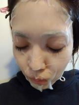 「エアリーフェイスマスクを試したよ❤」の画像(3枚目)