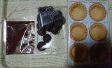 共立食品さんのキットでバレンタイン手作り(2)長女の初友チョコの画像(3枚目)
