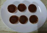 共立食品さんのキットでバレンタイン手作り(2)長女の初友チョコの画像(5枚目)