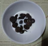 共立食品さんのキットでバレンタイン手作り(2)長女の初友チョコの画像(4枚目)