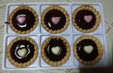 共立食品さんのキットでバレンタイン手作り(2)長女の初友チョコの画像(6枚目)