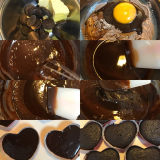 共立食品【バレンタイン手作りセット】プチガトーショコラとくまちゃんのプチタルトの画像(3枚目)