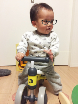 「王子の乗り物デビューは「d-Bike mini(ディーバイク ミニ)」!」の画像(1枚目)