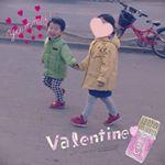 息子がいっちょまえにデートしてた‼️しかもめっちゃデレデレしてた😂(笑)・バレンタインの母の衝撃でした💨・どうかどうか、ステキな恋をしてくれますように💕・・#愛の木に願いを…のInstagram画像