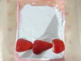 「【うちカフェ】ひな祭りにぴったりなピンクスイーツ♪いちごのピンクロールケーキ」の画像(7枚目)