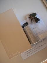 「フェリシモ、クラソのOnce a day台所用油汚れ洗浄水と1日ふきんモニター」の画像(1枚目)
