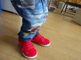 息子のおニューの靴、アサヒ健康くんの画像(5枚目)
