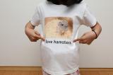 自然な仕上がりに大満足!オリジナルのTシャツなどを作れる「デコプリ」でハムちゃんのTシャツを作ってみたの画像(37枚目)