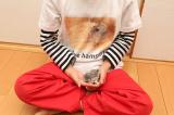自然な仕上がりに大満足!オリジナルのTシャツなどを作れる「デコプリ」でハムちゃんのTシャツを作ってみたの画像(34枚目)