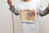 自然な仕上がりに大満足!オリジナルのTシャツなどを作れる「デコプリ」でハムちゃんのTシャツを作ってみたの画像(30枚目)
