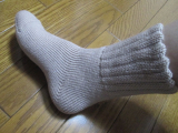 「ふんわ~りあったか♪ソフトな履き心地「毛布のような靴下」」の画像(3枚目)
