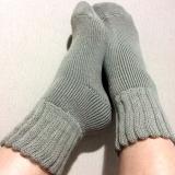 「ふんわ~りあったか履く毛布♪♪ソフトな履き心地「毛布のような靴下」☆」の画像(7枚目)