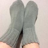 「ふんわ~りあったか履く毛布♪♪ソフトな履き心地「毛布のような靴下」☆」の画像(6枚目)