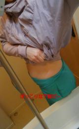 バタフライアブス使用後の腹筋状況の画像(1枚目)