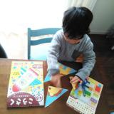 口コミ記事「知育にも♪学研の幼児ワーク『こうさく4〜6歳』」の画像