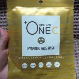 「+OneC プラワンシー ハイドロゲル フェイスマスク アルティメイト」の画像(1枚目)