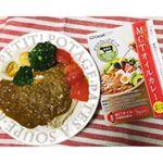 今日のランチはMCTオイルカレー🍛・ご飯の代わりにブロッコリー、えのきなど低糖質野菜とコラボしてみたよ❤️・オーストラリア産グラスフェッドビーフ(放牧牛)を100%使用しているから余分…のInstagram画像