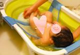 ママ一人の沐浴も安心【フォールディングバス&ベイビーバスネット】を使ってみました!の画像(6枚目)