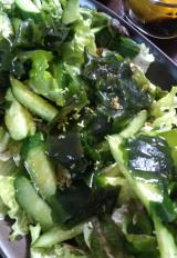 梅こんぶ茶でサラダを美味しく(*^^*)の画像(3枚目)