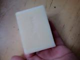 「アンティアンの人気No,1手作りオーガニック洗顔石鹸ラベンダーハニー」の画像(2枚目)