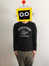 マックハウス キャラクターズコレクション メンズ長袖Tシャツの画像(2枚目)